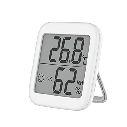 GANFANREN Termómetro multifunción Higrómetro Monitor de Humedad electrónica automática Termómetro e hígómetro con Sensor