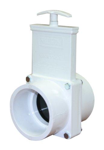 Valterra 6301 Vanne de porte en PVC Blanc 7,6 cm