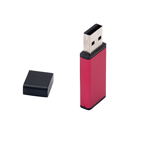 #N/A Memory Stick - Memoria USB externa (64 GB), color rojo