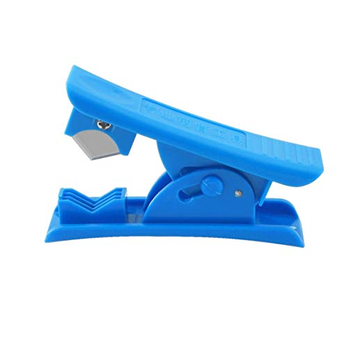 Kongqiabona-UK Cortador de Tubos PTFE portátil Mini Cuchilla cortadora de Tubos portátil para Piezas de Impresora 3D Herramientas de Corte de Nailon PVC PU
