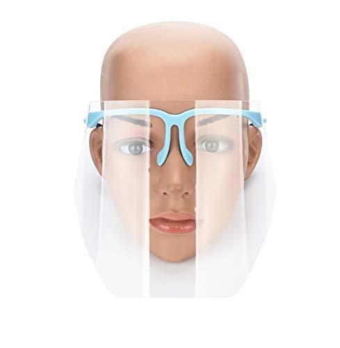 keuken Oil-Splash Proof uienbril Gezichtsbescherming Koken Arbeidsveiligheid Schilderen Gezichtsbescherming Gereedschap, 1 * Frame + 5 * lens.