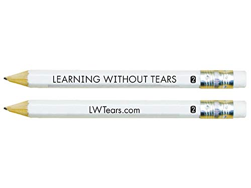 Learning Without Tears Pencils for Little Hands- Trans K–1, Handwriting, Writing Tools, Bulk Pencils- For School and Home Use