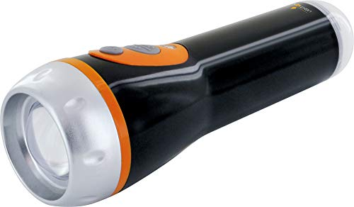 SCHWAIGER -661620- LED Notfall Taschenlampe 1 W Steckdosenlampe 45 Lumen als Notfalllicht mit Helligkeitssensor dimmbar wiederaufladbar