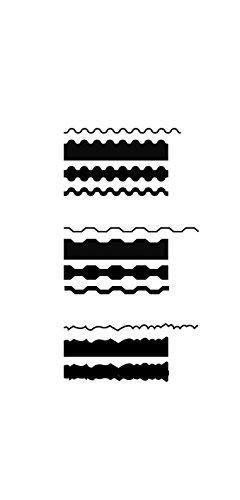 Artemio 3 Intercambiables Tijeras para Manualidades con Cuchillas