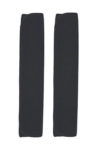 Case Wonder Sicherheitsgurtpolster, 2er-Pack, für mehr Komfort, schwarz (Schwarz) - SY0022-PADS