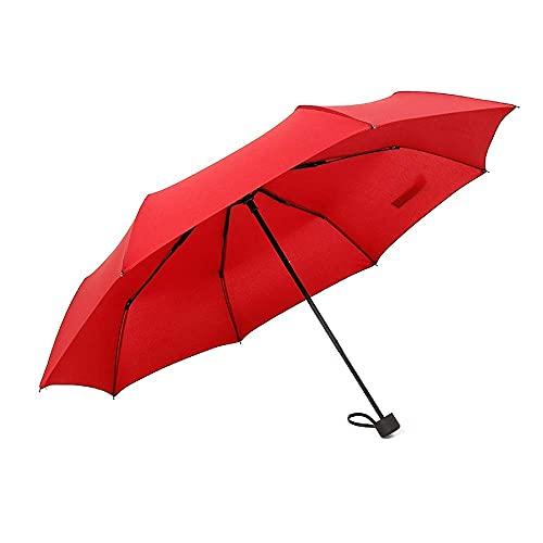 FZYE Paraguas Plegable Paraguas de Lluvia para Hombres y Mujeres Temporada de...