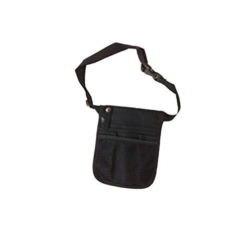 EXCEART Organizador Médico Portátil Enfermera Delantal Cadera Cintura Bolsa Riñonera Accesorios para Hospital Herramientas Médicas Almacenamiento Bolsa 23X16cm