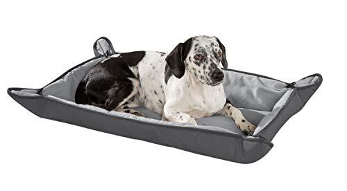 KAHU Hundebett I Hundedecke I für Hunde und Katzen I 2 in 1 Funktion I Beidseitig verwendbar I Ökotex Zertifiziert I Pflegeleicht und Waschbar I 65 x 100 cm