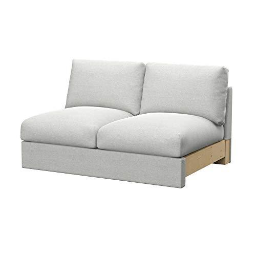 Soferia Funda de Repuesto para IKEA VIMLE módulos sofá Cama de 2 plazas, Tela Classic Creme, Off-White
