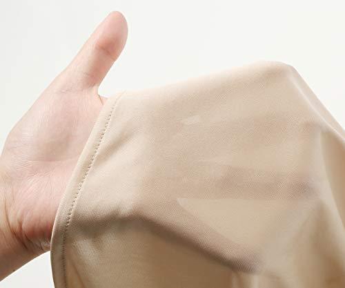[アツギ]ペチパンツNUDEMake(ヌードメイク)50cm丈フレアパンツ49239FQSレディースハニーアーモンド日本M(日本サイズM相当)