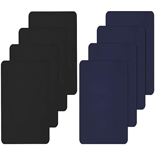 8 Stück Nylon Reparatur Patches Selbstklebende Nylon Patch Wasserdicht Reparatur Patches für Kleidung Daunenjacke Zelt Kleidersack (25 x 15 cm)