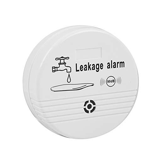 Wireless Water Leak Detector Sensor, Home Security 90 dB High Decibel Household Water Leakage Alarm for Home Kitchen Toilet Bathroom Laundry Room