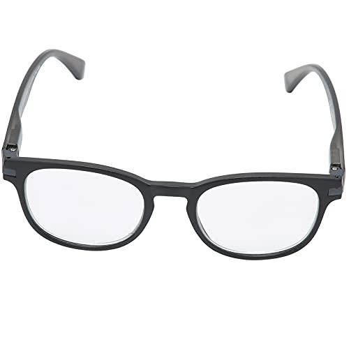 Gafas de lectura, gafas presbiópicas portátiles unisex para leer, gafas de filtro ligeras, gafas de lectura de calidad, sencillas y elegantes(65-69 +300)