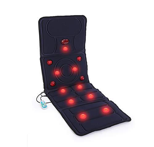WXX Komplette Massage Gesundheits-Matratze, multifunktional, wärmeisolierend, elektrisch, Infrarot-elektrisch, faltbar, Kopfkissen für Bett mit entspannenden Wärmeabgabe