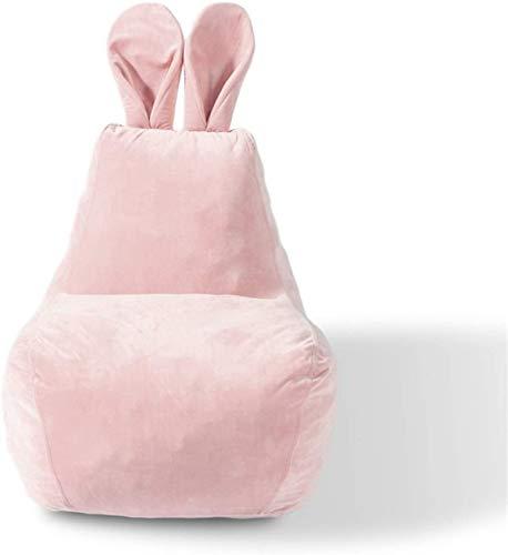 LIjiMY Beanbags Beanbag para Adultos Y Niños Silla De Silla Edad, Beanbag Adultos Tumbonas Saco Home Impermeable Al Aire Libre (Color: Rosa, Tamaño: Un Tamaño) (Color : Pink, Size : One Size)