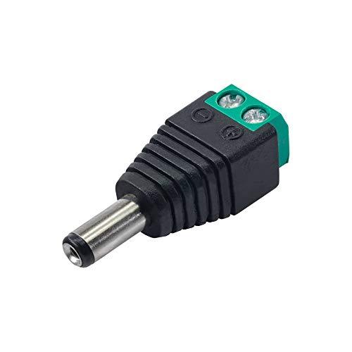 AKYGA AK-SC-16 DC Stecker 5.5 * 2.1 mm für CCTV Kamera Video
