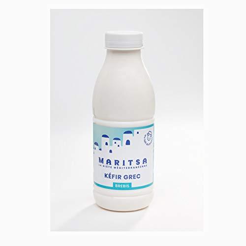 Kefir de lait de brebis nature - Maritsa - 12 bouteilles de 250ml