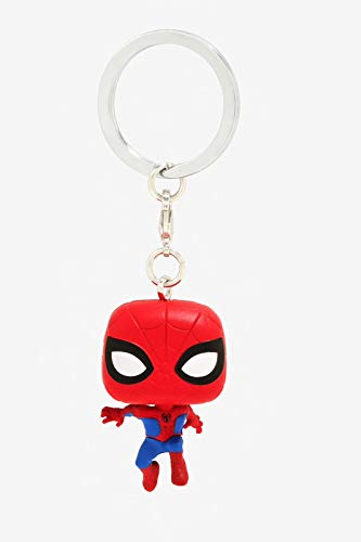 Product Image 4: Funko Pop Keychain: Animated Spider-Man Movie – Spider-Man Collectible Figure, Multicolor