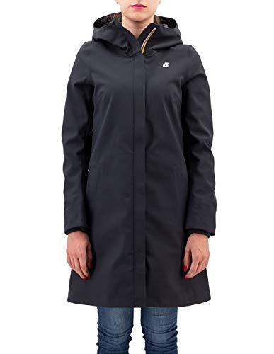 K-Way Stephanie BONDEDK02 Black Kway Giacca Impermeabile Nero 5 XL Donna
