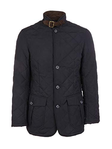 Luxury Fashion | Barbour Heren BACPS1172NY71 Donkerblauw Polyester Outerwear Jassen | Herfst-winter 19