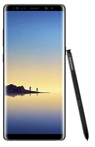 Samsung Galaxy Note 8 UK Sim Free Smartphone - Black (Single Sim) (Renewed)