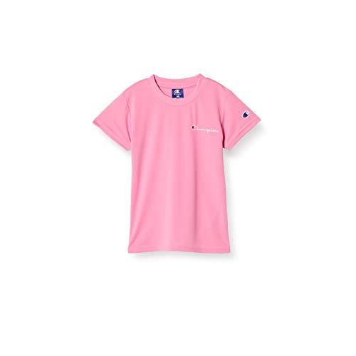 [チャンピオン] Tシャツ 吸汗速乾 スクリプトロゴ ガールズ スポーツ CK-TS332 ピンク 160