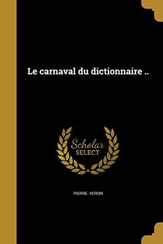 FRE-CARNAVAL DU DICTIONNAIRE