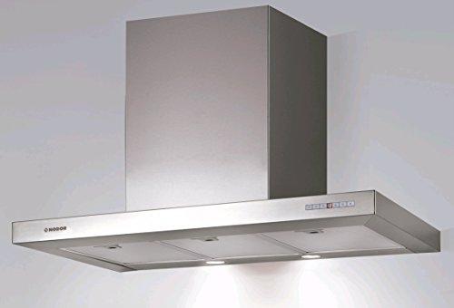Nodor LICEO 900 - Campana (Canalizado, 790 m³/h, 49 Db, Montado en pared, LED, Acero inoxidable)