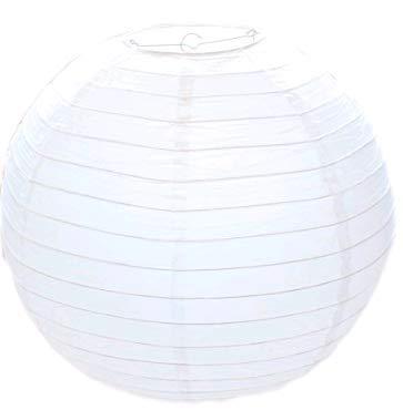 Lsv-8 30 cm 12 Zoll europäischen Hochzeit Atmosphäre weiße handgemachte DIY Laterne Dekoration Laterne