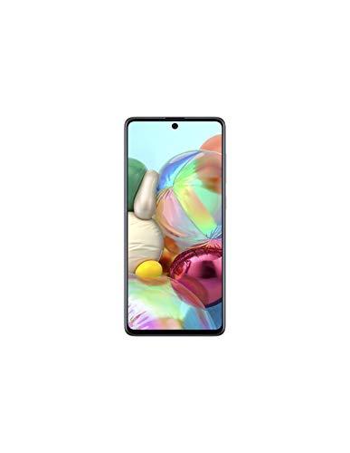 Samsung Galaxy A71 - Smartphone de 6.7' FHD+ (4G, Dual SIM, 6 GB RAM,128 GB ROM, cámara Trasera 64.0 MP+12.0 MP (UW)+5.0 MP (Macro)+5 MP, cámara Frontal 32 MP) Negro [Versión española]