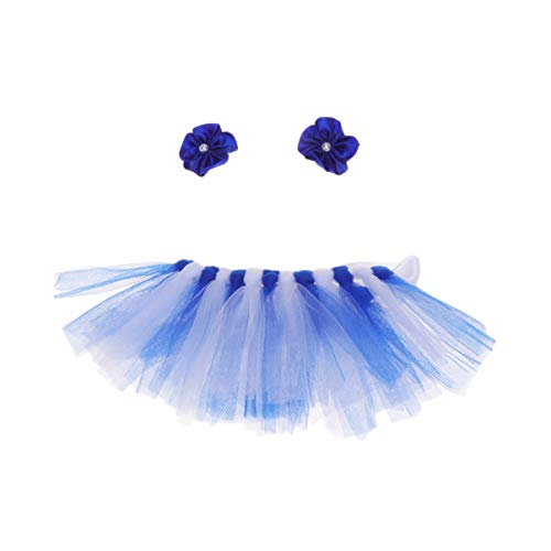 POPETPOP Perro Tutu-Perro Bailarina Disfraz Cachorro Gato Princesa tut Vestido con Sombreros Fiesta de Halloween Faldas Ropa Disfraz Ropa-Azul