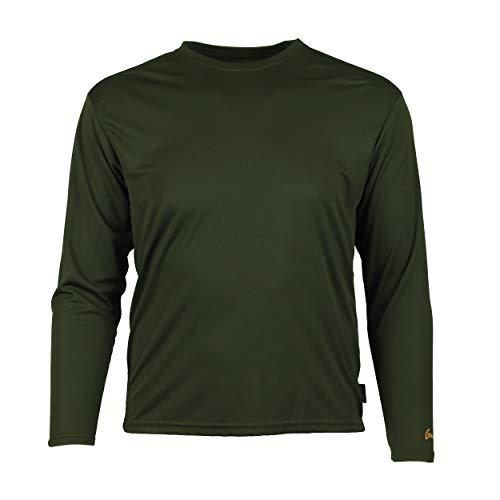 Gamehide ElimiTick Long Sleeve Tech Shirt Loden Green, Size-XL