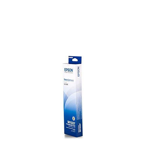 Epson Cartuccia Nero SIDM per LQ-590 (C13S015337) – nastro per stampanti a matrice (Nero, matrice di punti, 24 pin, 290 x 78 x 32, Epson LQ-590)