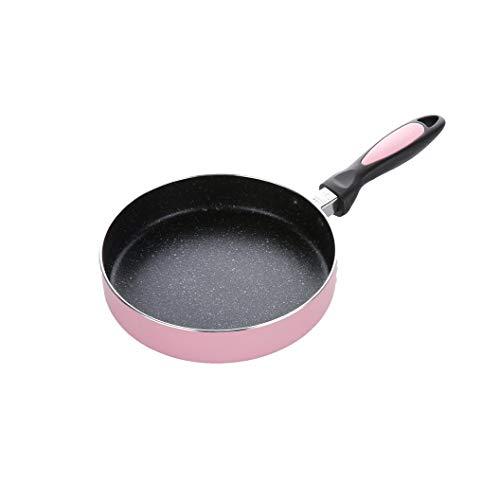 ZLDGYG Aleación de Aluminio Antiadherente Sartén de la Crepe Filete Tortilla de Huevo turrón de Caramelo Jam sartén Revestimiento crisol de cocinar