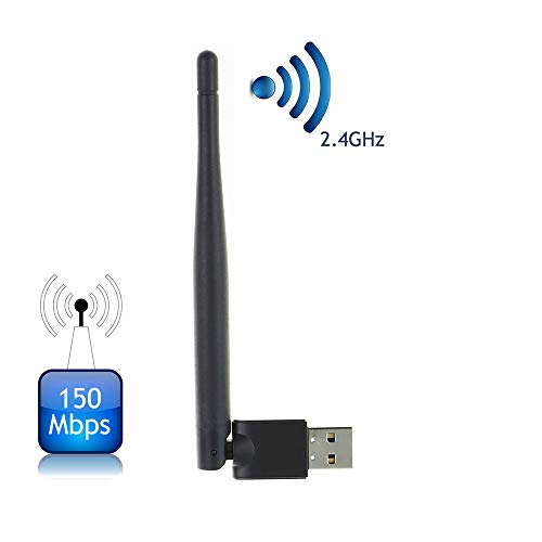 Freesat V8 USB WIFI WLAN Adapter for Decoder Digital Satellite TV Receivers Receptor, Mini WIFI Antenna Dongle?Freesat V7 HD ,V8 Super,V8 Golden Wifi Signal Stabilizer