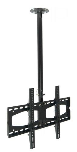 TV Deckenhalterung quipma 202, für 37-60 Zoll, bis Vesa 600 x 400, max.60 kg, schwarz