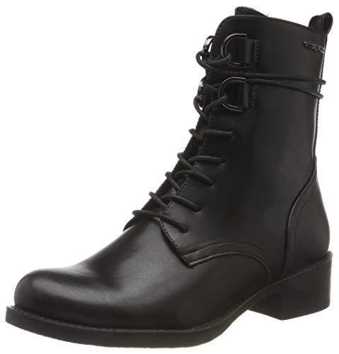 Tom Tailor Womens 9096102 Mid Calf Boot Bootie Boot, Black, 9 UK