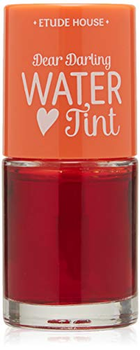 ETUDE HOUSE Dear Darling Water Tint Orange Ade | Bright Vivid Color Lip Tint with Moisturizing Pomegranate & Grapefruit Extract to Hydrate your Lips