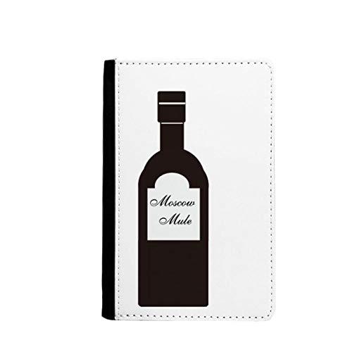 beatChong Schraubendreher Wodka Orangensaft Cocktail-Pass-Halter Travel Wallet Abdeckungs-Fall Karten-Geldbeutel