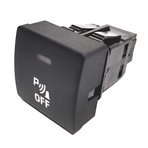 YYAN Sensor de Aparcamiento Interruptor de Aparcamiento Interruptor de Ayuda Interruptor invertido Citroen C4 C4 Peugeot 307 408 6590f3 96476639xt (Color : Black)
