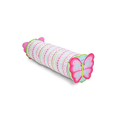 Melissa & Doug Sunny Patch Cutie Pie Butterfly Crawl-Through Tunnel (almost 5 feet long)