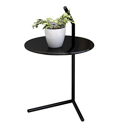 Desks DD Side Table, een paar ronde tafels op de Scandinavische bank, nachtkastje -werkbank