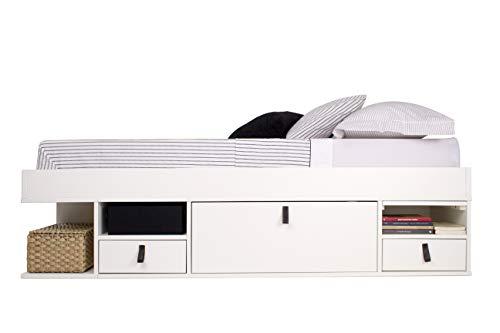 Memomad Funktionsbett 140x200 Bali viel Stauraum, Schubladen, Preis inkl. Lattenrost
