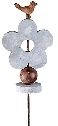 formano Jardin en métal Motif fleur, 115 cm