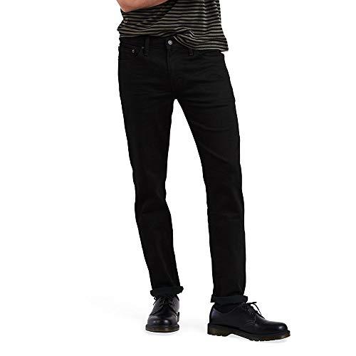 Levi's Men's 511 Slim Jeans, Black Black 3D, 42W x 30L