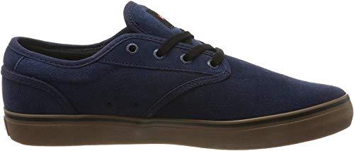 GLOBE Motley, Zapatillas de Skateboard para Hombre, Azul (Indigo/Gum 13292), 40.5 EU