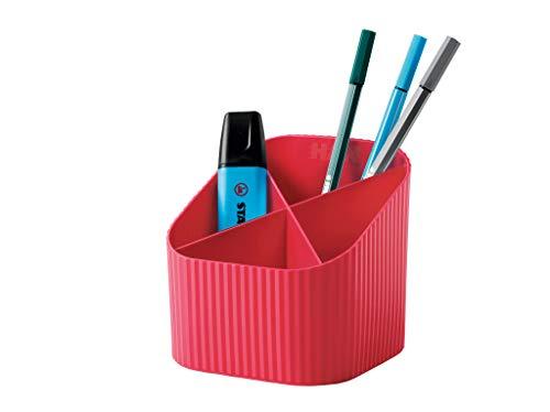 Han Re-X-LOOP say yes to 100% reciclable, diseño moderno y joven para todos los utensilios de escritorio, color rojo