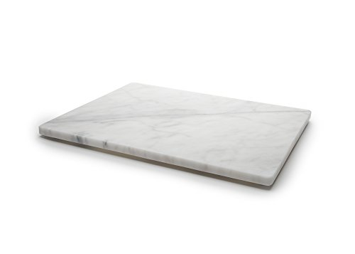 Fox Run 3829 Marble Pastry Board White, 16 x 20 x 0.75 inches