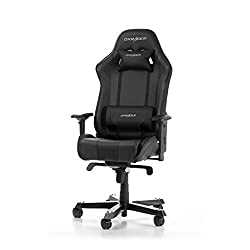 DXRacer King Series K06-N gaming chair made of synthetic leather, black