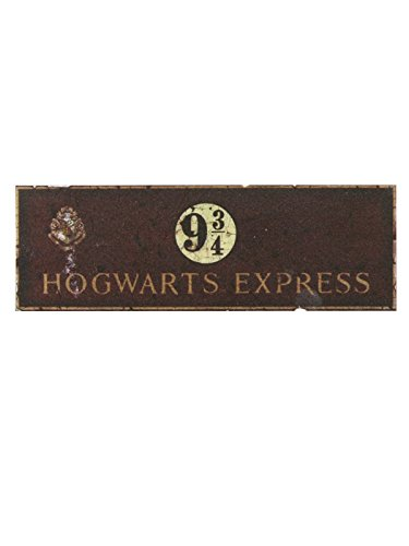 HARRY POTTER Hogwarts Reliquias de la Muerte 2y Star de Grosor Brazalete de Silicona (Oro)
